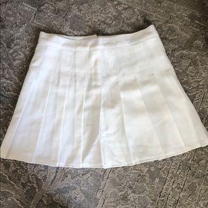 Dresses & Skirts - White pleated cheer skirt